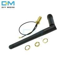 11cm 2.4G sans fil SMA bâton dantenne 2dB 2,5db Gain pour NRF24L01 PA CC2500 Module 20cm IPX câble adaptateur pour Arduino