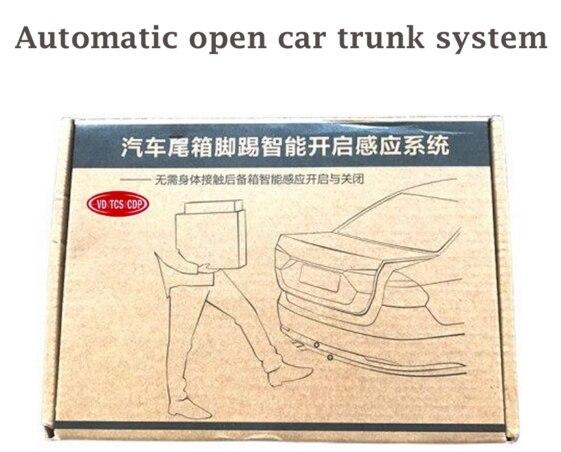 Livraison gratuite PLC induction ouverte voiture coffre système ascenseur automatique ouvert boîte de queue automatique Intelligent coup de pied queue porte avec la meilleure qualité