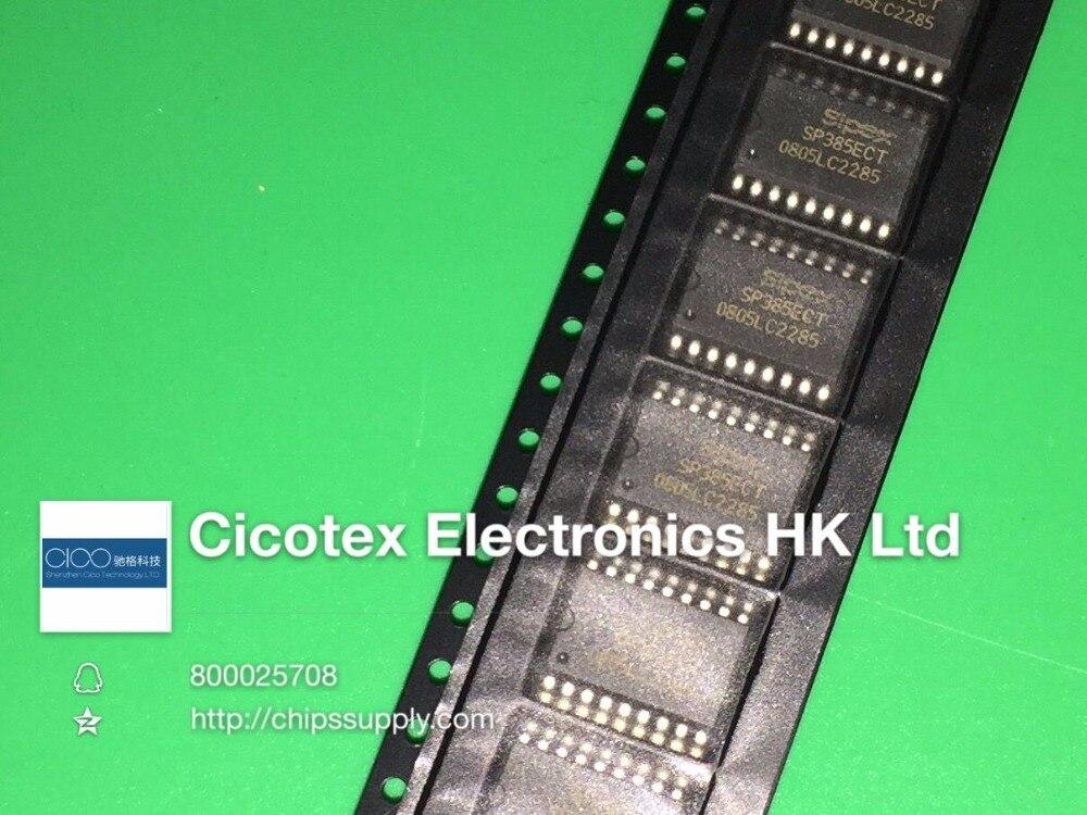 2 unids/lote SP385ECTTR 385 SOP18 IC DVR RCVR RS232 18SOIC SP385ECT-LTR