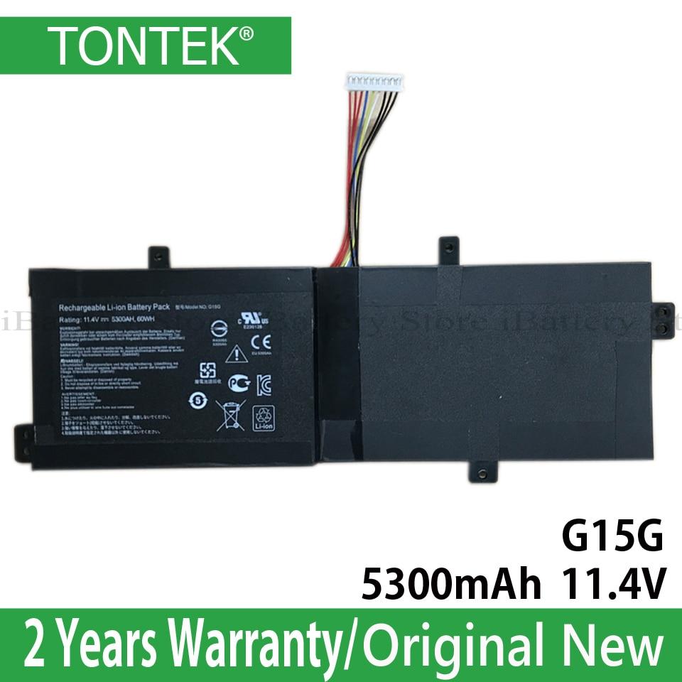 Genuine G15G Battery For ThundeRobot 911 Targa T6C T5TB T6D Hasee SabrePro 15 Series