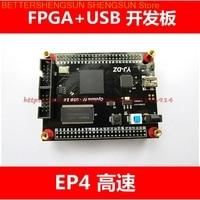 free shipping EP4CE10 Altera Cyclone FPGA+USB board Y7c68013 high speed USB2.0