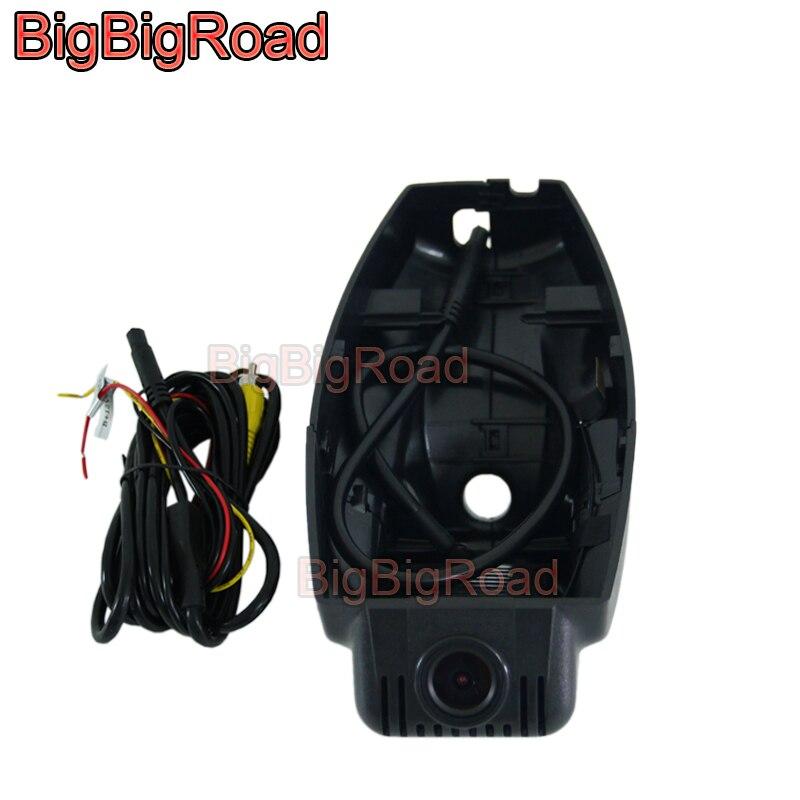 BigBigRoad Car DVR Wifi Video Recorder DashCam For BMW 3 5 7 X1 E84 F15 X5 X6 X3 E71 E72 F25 E46 E90 E91 E92 E83 E87 120i 320i