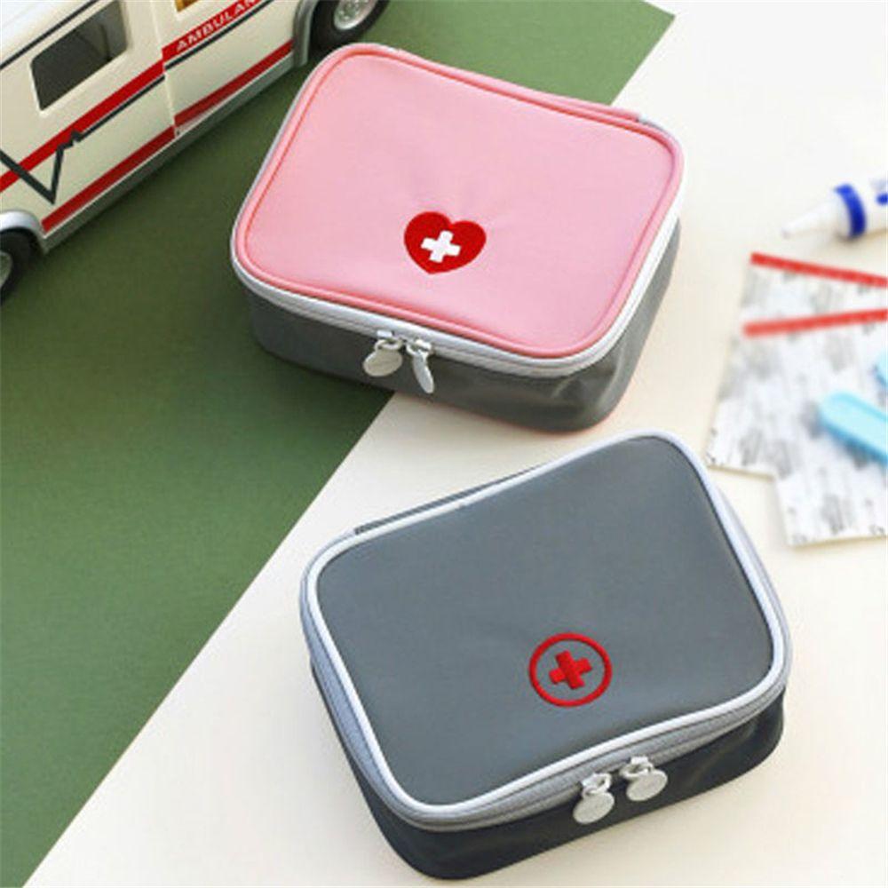 Kit de botiquín de primeros auxilios Mini portátil bonito, Kit de emergencia médica, organizador, bolsa de cosméticos para el hogar al aire libre, Dropshipping