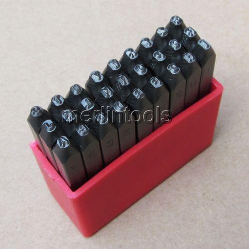 Juego de troqueles de acero invertido de 27 piezas para marcar el tamaño