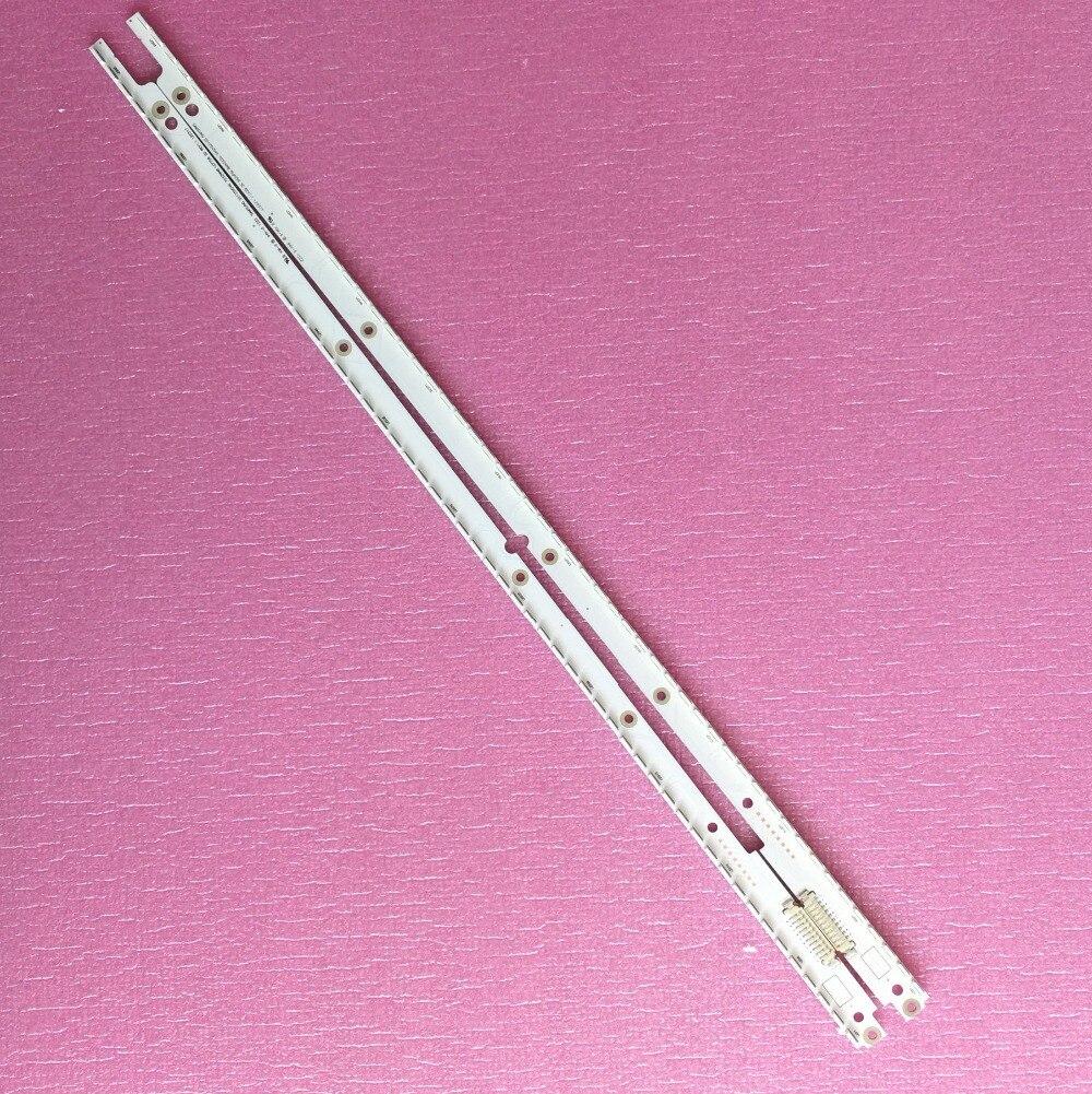 """Tira de led 40 """", para samsung sled 2012svs40 7032nnb left56/right56 3d 500mm 56leds * 3v 3v"""