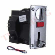 Многопрограммируемый монетоприемник DG600F с 6 различными монетами для стиральной машины, электронный торговый автомат, селектор монет