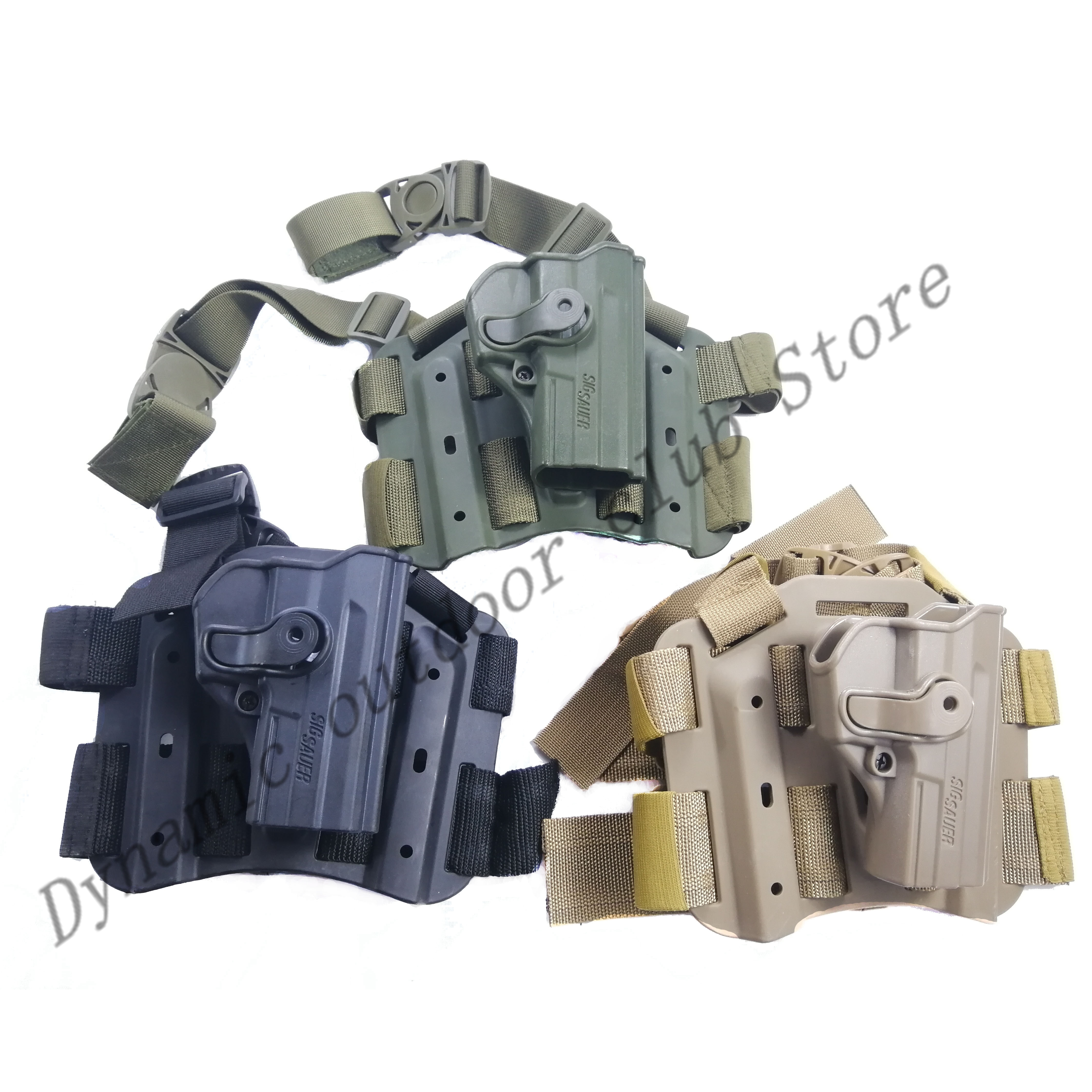 Pro gota perna coxa caso para pistola tática sig sauer sp2022 p220 p09 armas militares airsoft pintura caça