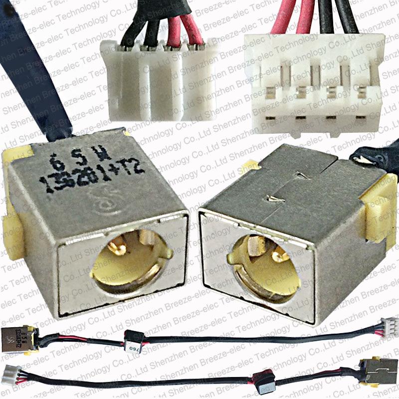 65 Вт новый ноутбук AC DC разъем питания кабель разъем провода для ACER Aspire V3-531 V3-551 V3-571 E1-521 E1-531 серии