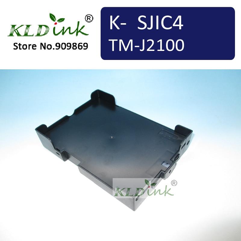 Cartucho de tinta compatível SJIC4 VERDE para TM-J2100 MAR-Jet-impressora/POS-impressoras