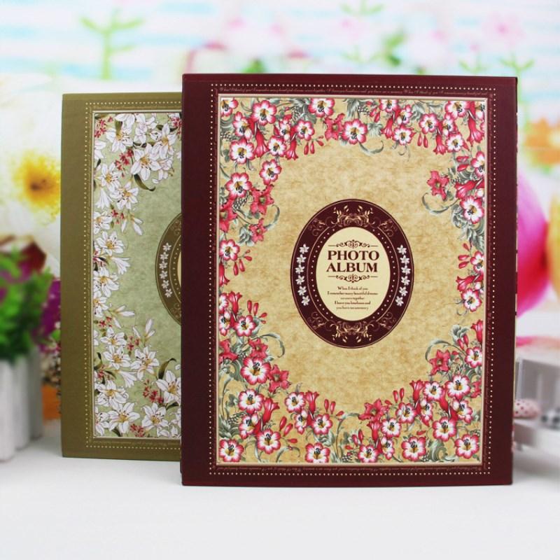 Lujo europeo 4D tamaño grande 6 pulgadas 200 en caja álbum bebé álbum de recortes foto de boda álbum de recortes