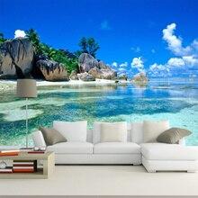 Papier peint Photo Mural De décor naturel   Papier peint personnalisé pour salon, décor De maison, papier Mural 3D