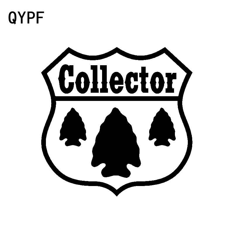 QYPF 14cm * 13,6 cm único duro a colector proteger árboles signo gráfico vinilo pegatina coche ventana Grateful calcomanía C18-0495