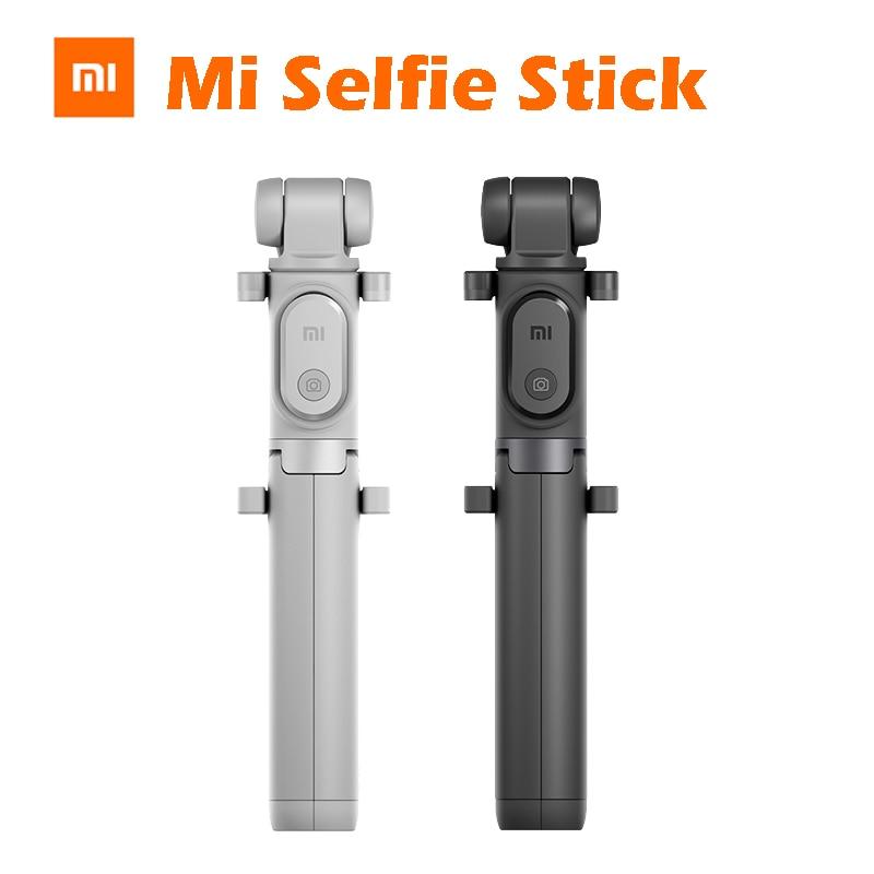 Original xiaomi mi stan selfie stock stativ bein 360 grad kann schalten runden Bluetooth Shutter für iPhone IOS Android