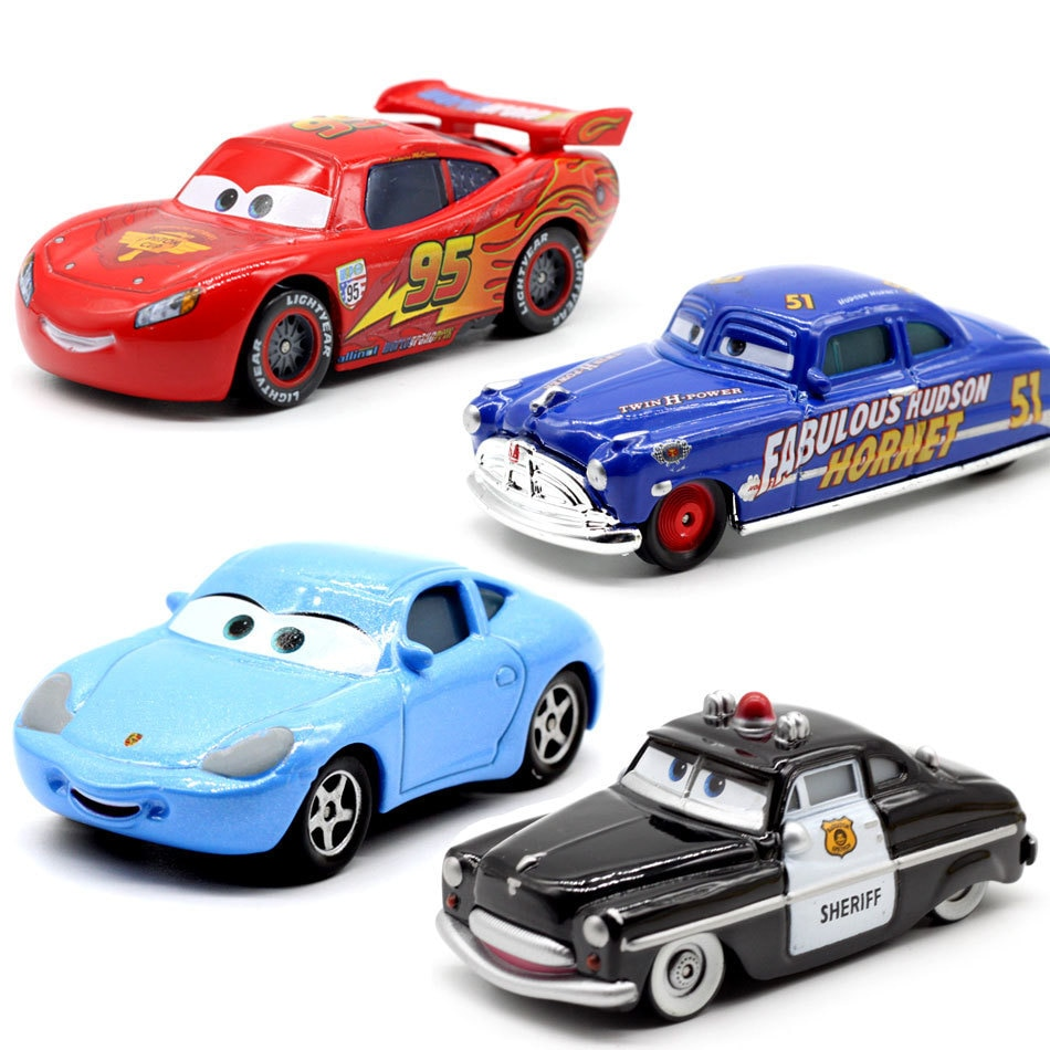 Disney Pixar Cars 3 20, стильные игрушки для детей, Молния Маккуин, высококачественные пластиковые машинки, игрушки модели персонажей из мультфильмо...