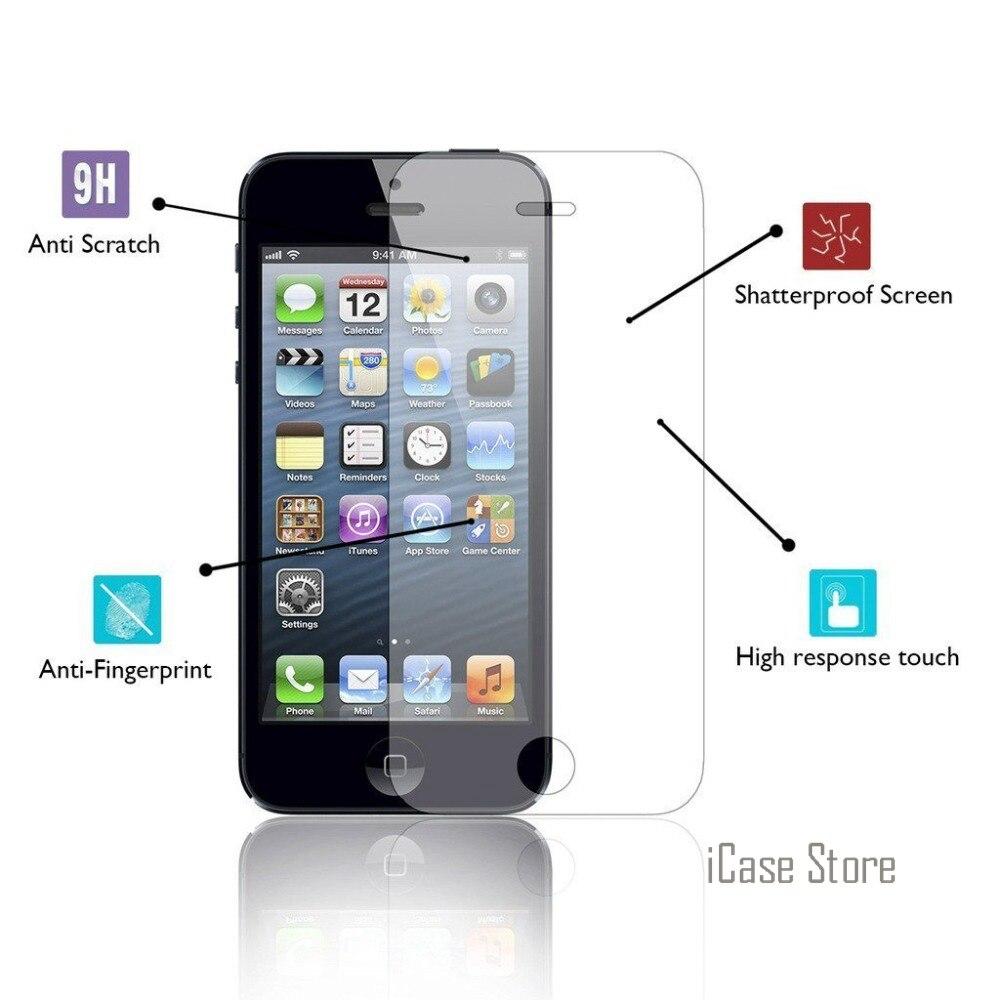 Protector de pantalla Premium de vidrio templado 9H para iPhone 6 6S...