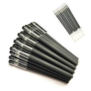Набор из 24 штук, канцелярские принадлежности канцелярские товары Оптовая шлифовальный песок стержень ручка с чернилами стандартных цветов...
