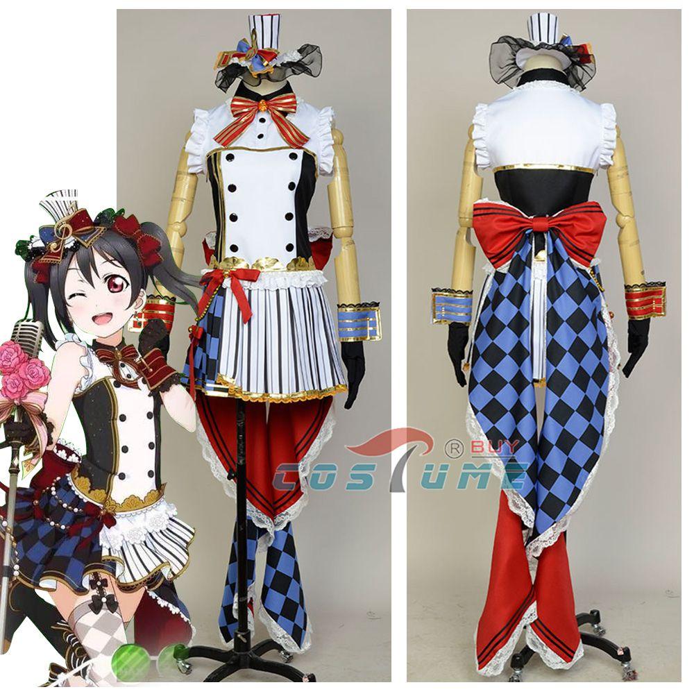 Liebe Live Cafe Maid Cosplay Kostüm LoveLive Nico Yazawa Meidofuku Wecken Cosplay Kostüme Halloween Karneval