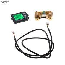 Testeur de batterie de précision OOTDTY 80V 350A TK15 pour coulomètre LCD de compteur de coulomètre LiFePO