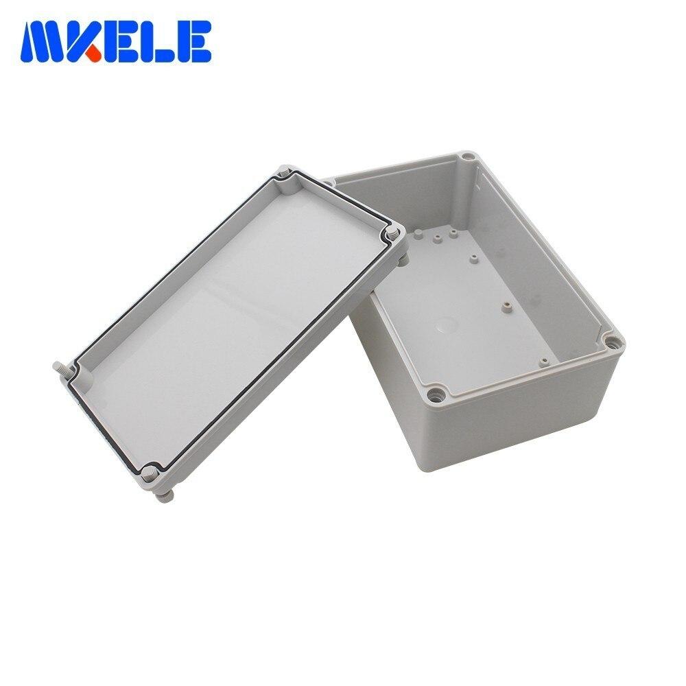 Caja impermeable IP65 caja de empalmes para exteriores ABS carcasas electrónicas para electrónica funda transparente DIY envío gratis