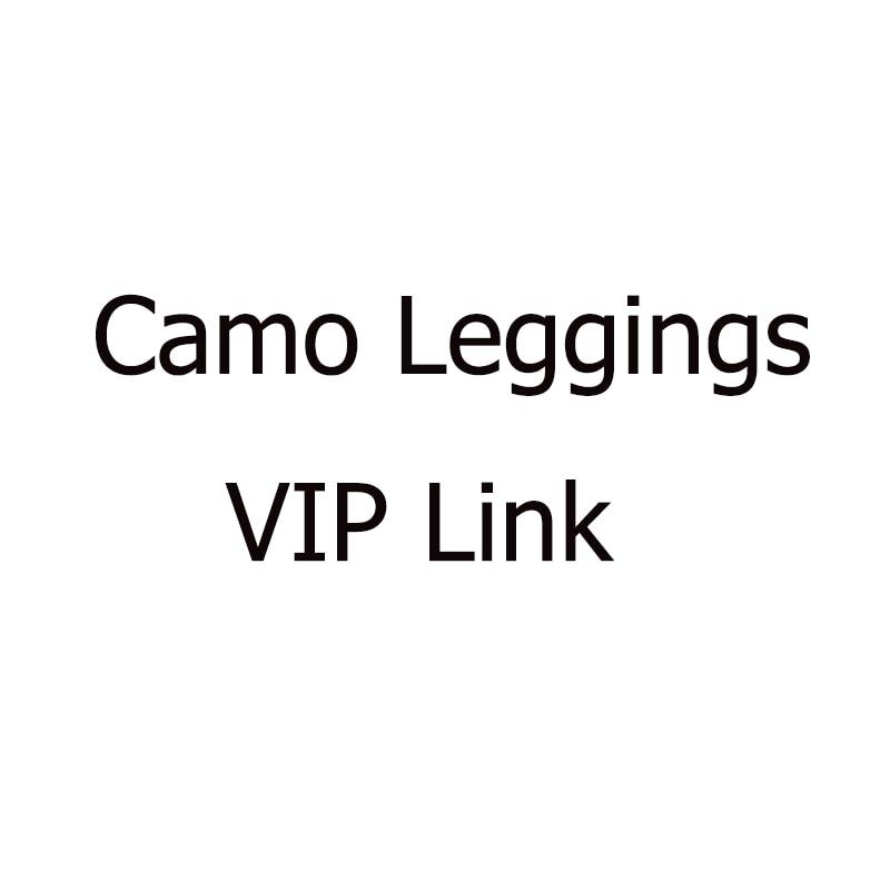 Leggings de camuflaje VIP Link (negro, verde, púrpura)