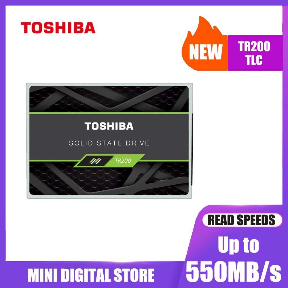 """Unidad de estado sólido TOSHIBA 240GB OCZ TR200 480GB 64 capas 3D BiCS FLASH TLC 2,5 """"SATA III 960GB disco interno para ordenador portátil"""