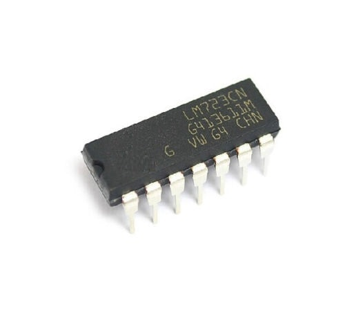 5 шт. X LM723CN LM723 DIP-14 IC регулятор напряжения 2-37 в