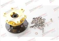 70mm Steering Wheel Quick Release Hub Adaptor For Racing Karting GOLDEN SWQR-01