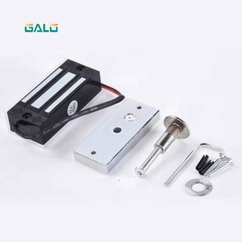 Cerradura electrónica Mini, cerraduras magnéticas, 60KG cc 12VDC 24Vdc 100lbs EM, cerradura de acceso, Cerradura Electromagnética de Control