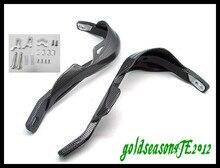 "Carbon Hand Guards Handguard FOR  kawasaki KFX450R KFX400 KLX250 7/8"" Mountings Clamp"