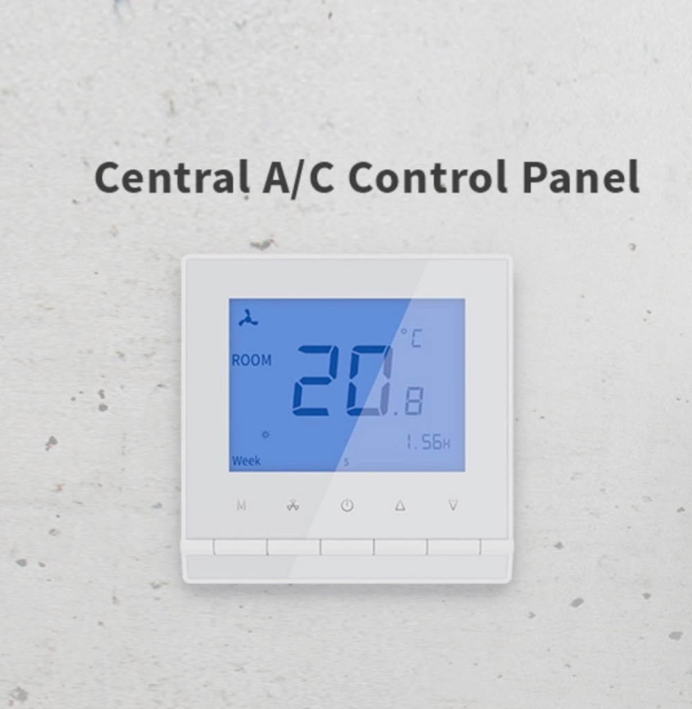 Freely control the Central A/C Panel on the smart phone, remote control the central air conditioning units via the HomeMate App