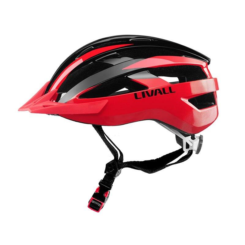 Casco de Bicicleta inteligente bicicleta montaña Bluetooth casco lados integrado micrófono, altavoces Bluetooth intermitentes inalámbricos luces traseras