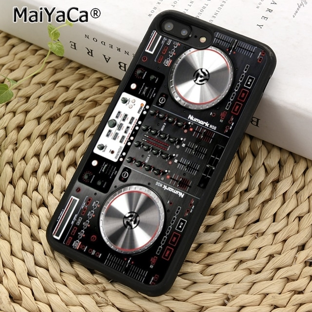 MaiYaCa, funda de teléfono giratoria DJ para iPhone 5 6 7 8 plus 11 pro X XR XS max Samsung S7 S6 edge S8 S9 S10