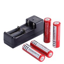 4 stücke 18650 3,7 v 4200mAh Lithium-Batterie für Led taschenlampe batery mit 18650 14500 Batterie Ladegerät US/EU stecker