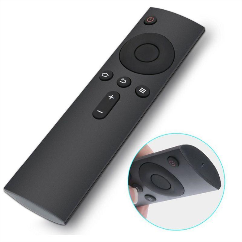 Bluetooth Remote Control Intelligent TV Controller Television Set Replacement for Xiaomi Mi Box 3/3C/3S/3Pro Black
