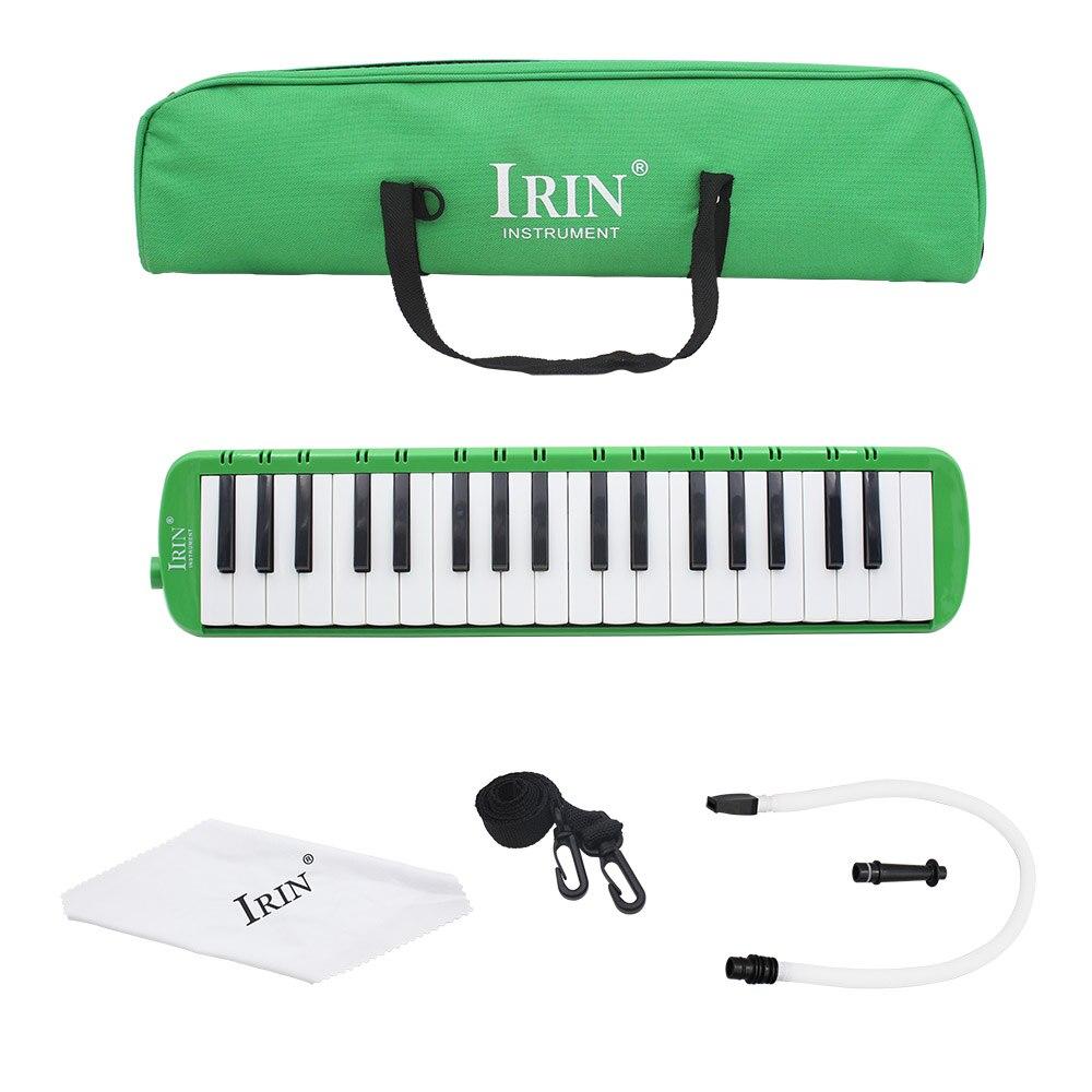 Irín Breen 37 teclas estilo Piano melódica Piano estilo armónica instrumento Musical para amantes de la música principiante con estuche de transporte
