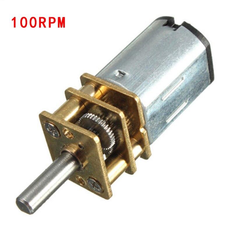 DC3 6 9V Micor motorreductor de velocidad Motor eléctrico 50/100/150/200/300RPM