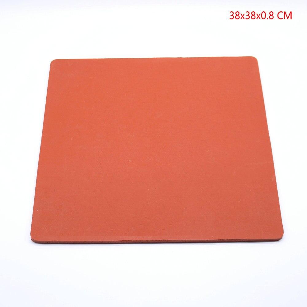 """Almohadilla de silicona de 15 """"x 15"""" para máquina de prensado en caliente, reemplazo de alta temperatura PadSilicone, esponja de goma"""