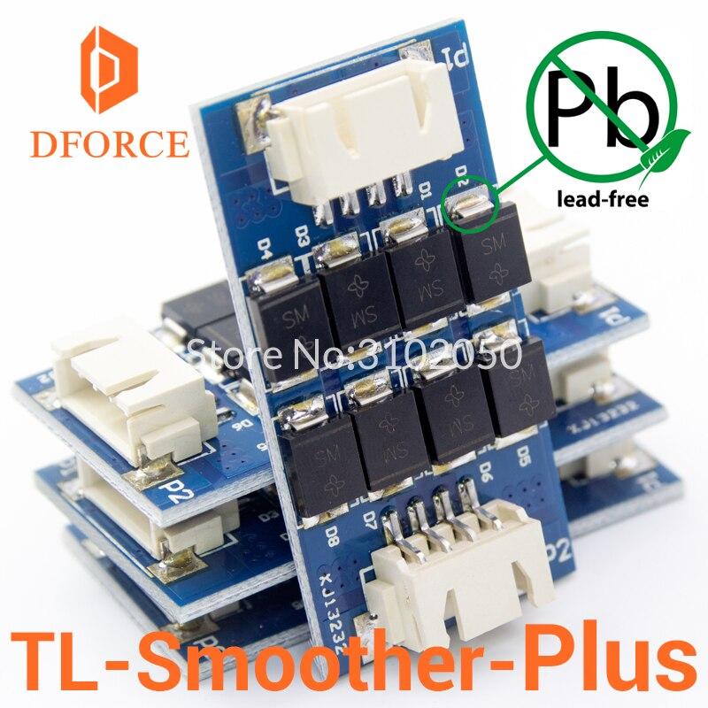 Módulo DFORCE 4 unids/pack TL-smoother PLUS addon para controladores de motor de impresora 3D, terminador de controlador de motor reprap mk8 i3