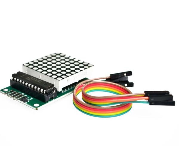 10 Uds MAX7219 punto módulo matriz de LED MCU pantalla LED módulo de Control Ki