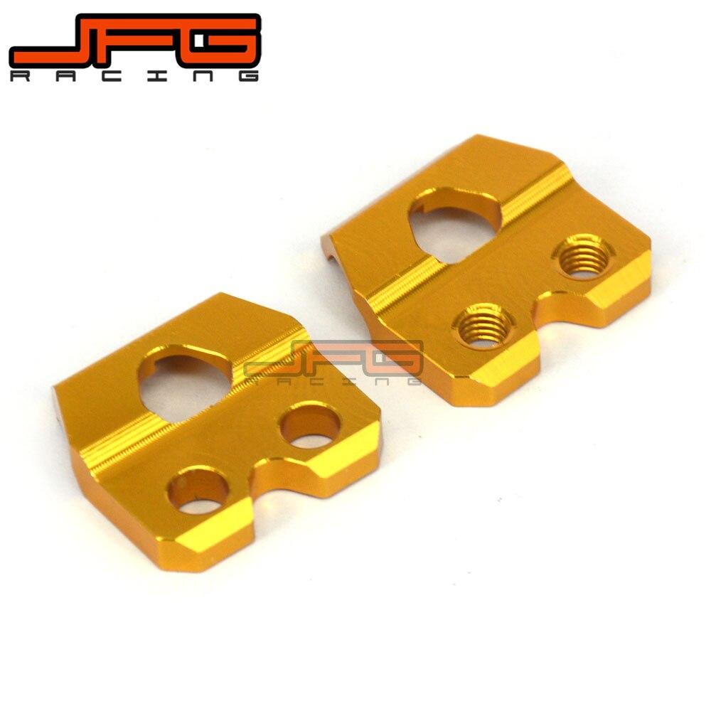 CNC freno tubo flexible abrazaderas soporte para SUZUKI RM85 02-17 RM125 RM250 01-13 RMZ250 04-19 RMZ450 05-19 RMX450Z DRZ400SM de la motocicleta