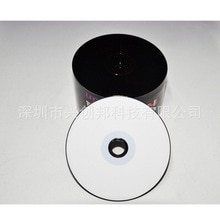 Vente en gros 50 disques vierges imprimables en noir et blanc 700 MB CD-R disques