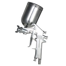 400ML Airbrush Spray Gun Gravity Feed Paint Gun Sprayer Air Brush Set Stainless Steel Nozzle Auto Cars Painting for Spot Repair