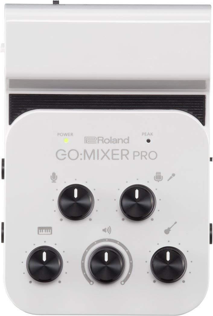 Roland GO: миксер PRO Audio Line MIXER (аккумулятор, USB) для смартфонов (GOMIXERPRO)
