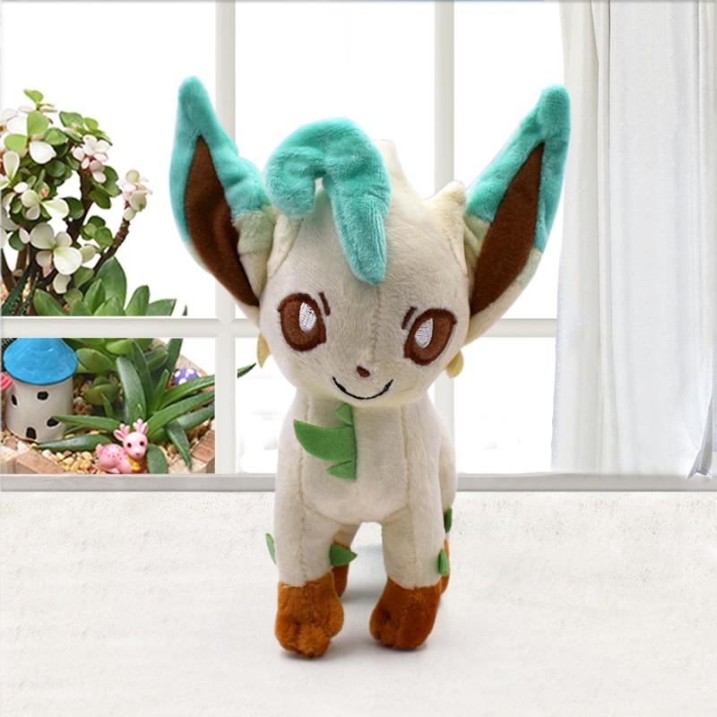 18-20cm Eevee Leafeon Peluche Peluche jouets poupées cadeaux pour enfants livraison gratuite