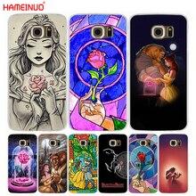 HAMEINUO beauté et la bête Rose housse de téléphone portable pour Samsung Galaxy S7 edge PLUS S8 S6 S5 S4 S3 MINI