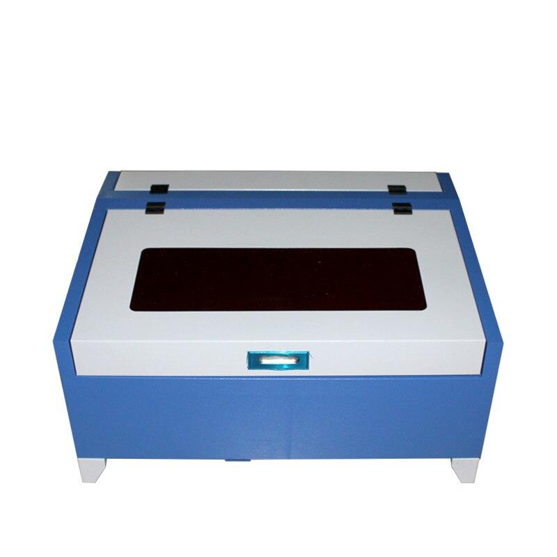 Máquina de grabado láser de escritorio LY 3040/4030 40W CO2 con función Digital y mesa de nido de abeja de alta velocidad