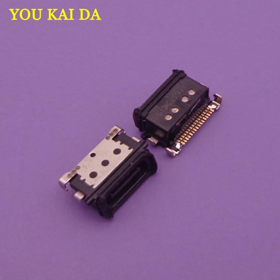 30 قطعة/الوحدة مايكرو USB موصل جاك شحن المقبس ميناء قابس قفص الاتهام الإناث استبدال إصلاح أجزاء لهواوي زميله 9 MT 9