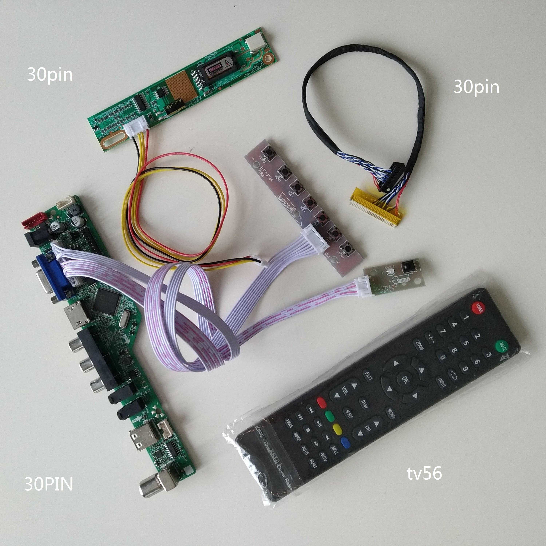 USB VGA TV HDMI AV аудио LCD LED контроллер драйвер платы комплект для HSD121PHW1-A03/HSD121PHW1-B00 1366*768 панель экрана