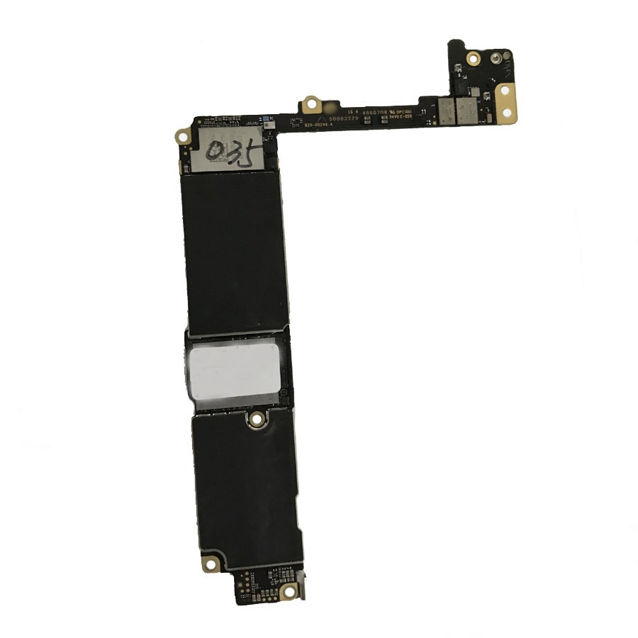 100% Original unlocked motherboard for iphone 7Plus 7 Plus without touch ID 32GB 128GB 256GB Free iCloud mainboard IOS system enlarge