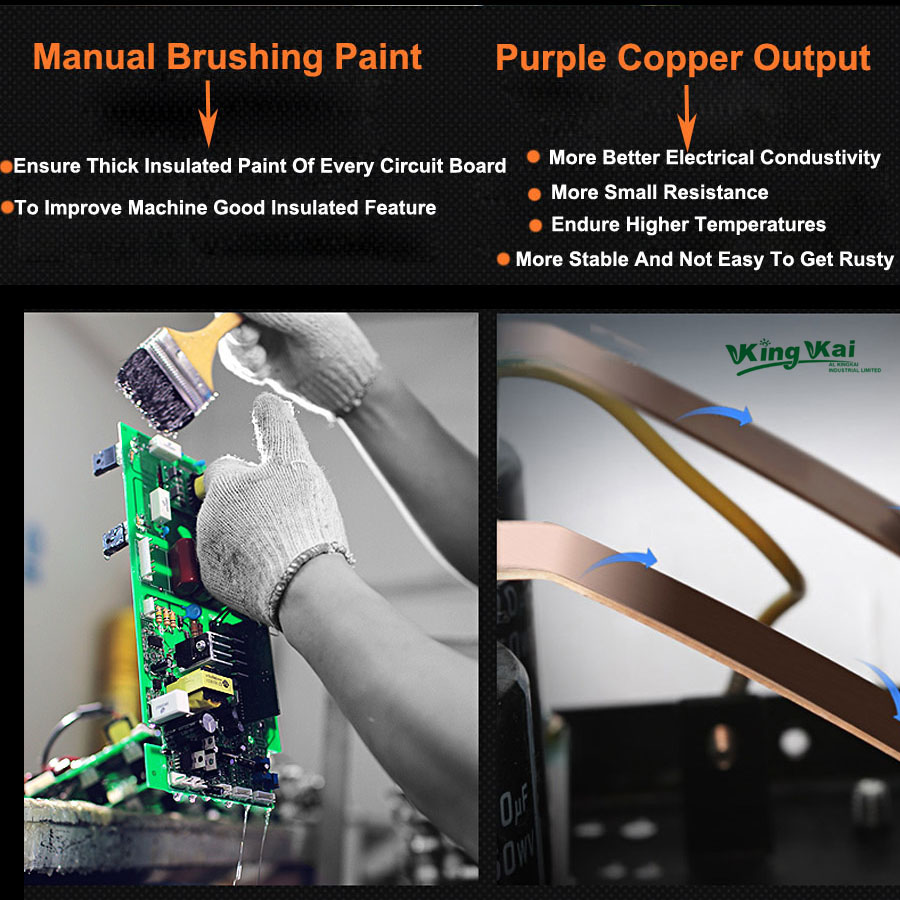 Super 400A IGBT Inverter Portable Arc Welder Equipment Electric Welding Machine ZX7-250 315 400 enlarge
